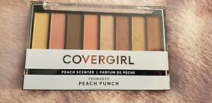 COVERGIRL PEACH PUNCH TruNaked Scented Eyeshadow Palette BRAND NEW