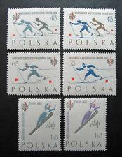 Poland 1962 Scott #1046-1049 MNH OG - Scott 2010 Catalogue Value $7.35!