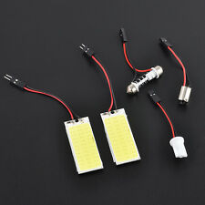White 36 COB LED Panel HID Bulb Car Festoon Interior Map Dome Light T10 lamp