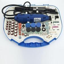 167Pcs Rotary Tool DIY Craft Kit Set Engraver Drill Sander Grinder Polisher
