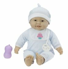 JC Toys Lots to Cuddle Babies Asian 20-Inch Purple Soft Body Baby Doll and by