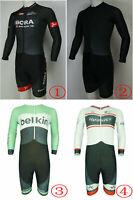 YQ064 Team Racing Cycling Skin-tight Wear Skinsuit Jumpsuit Size S//M//L//XL//XXL//X