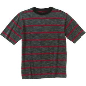 Faded Glory Boys Short Sleeve Crew Neck T Shirt Red Soot Size X-SMALL 4-5