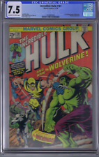 Incredible Hulk #181 Marvel 1974 1st full app. Wolverine