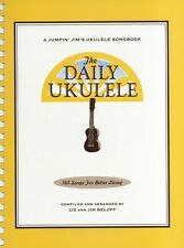 Daily Ukulele Songs Learn to Play Beach Boys Beatles Bob Dylan Uke Music Book