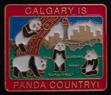 Panda Bear Pin Badge ~ Calgary is Panda Bear Country ~ Olympic