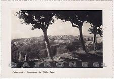 CATANZARO CITTÀ 22 VILLA Cartolina FOTOGRAFICA viaggiata 1949 - DIFETTO !!!
