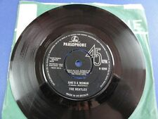 THE BEATLES SHES A WOMAN -1N-1N UK 45 EX