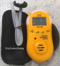 Mini Carbon Monoxide CO Meter Tester Detector 0-1000PPM Sound Light Alarm CO-110