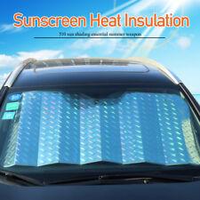 Car Windshield Windscreen Sun Shield Shade Laser Front Rear Window Cover 130x60