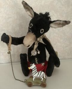 Rimbaud Seaside Donkey by A Curious Whim (Ragtail N Tickle) Bear Artist OOAK