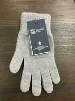 Men's Pure Cashmere Gloves | Johnstons of Elgin | Made in Scotland | Grey