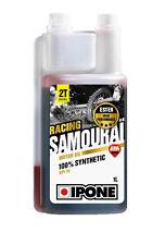 IPONE OLIO MOTORE SAMURAI RACING 100% SINTETICO MOTO 2T MOTOR OIL 1L
