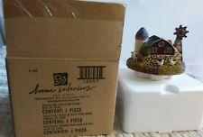 Home Interiors & Gifts Candle Jar Topper Barnyard Theme Windmill Animals Barn