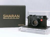 🟢Unused in Box🟢Sharan Leica M3 Black Model Mini Camera from JAPAN 421
