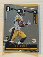 MIKE HILTON 2019 PANINI UNPARALLELED RC Cosmos ROOKIE #31 Pittsburgh Steelers