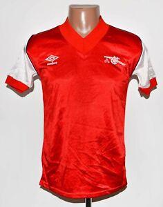 ARSENAL LONDON 1982/1983/1984 HOME FOOTBALL SHIRT JERSEY UMBRO SIZE S ADULT