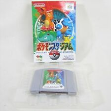 POKEMON STADIUM 1 Nintendo 64 Import JAPAN Video Game No Instruction bcn n64
