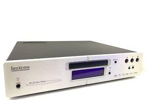LEXICON RT-20 SACD DVD Compact Disc Player HDMI Hi End Vintage 2005 Like New