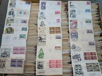 Overstock Sale 1940s to 1949 CACHETED FIRST DAY COVERS - BUY 1 OR MANY No Limit