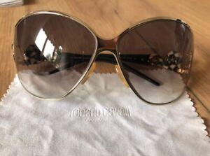 Roberto Cavalli occhiali da sole vintage anno 2002 con pietre. Custodia original