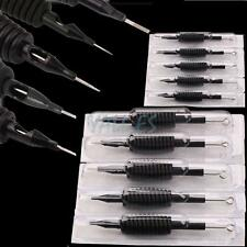 100pcs Disposable Tattoo Needle and Tube 3/4 Grip with Tip U-Pick RL RS F M1 M2