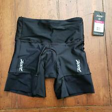 "ZOOT - Women's XS Tri Shorts Performance 6"" Triathlon Black X-SMALL"