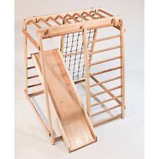 Sportkomplex Spielgeräte Kinder Holz Kletterwand Sportgerät