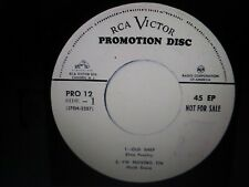 ELVIS PRESLEY RARE ORIGINAL OLD SHEP WHITE LABEL PROMO 45 EP 1956 EXCELLENT OS