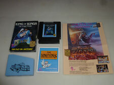 BOXED NINTENDO NES GAME KING OF KINGS THE EARLY YEARS COMPLETE WISDOM TREE RARE