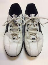 Nike T@C White/Black Mens 8 Used Golf Shoes