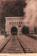 TUNNEL DEL SEMPIONE PORTALE D' ISELLE CARTOLINA RICORDO DELL'OSSOLA  C4-215