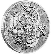 AUSTRALIE 1 Dollar Argent 1 Once Dragons Mythes et Légendes 2021