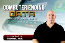 Computer Engine Data / Automotive Diagnostic Training / DVD / Manual  / 275