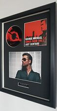 George Michael-Songs From The Last Century-Framed Original CD-Ltd Edt-Plaque