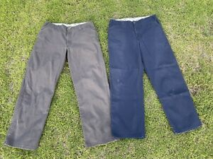 Ben Davis Pants 2 Pairs 36x32 Grey Blue