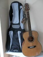 Crafter Hilite T/CDn acoustic guitar & padded gigbag, new, waranteed