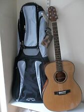 Crafter Hilite T/CDn acoustic guitar & padded gigbag, new, waranteed