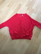 Girls Red Batwing Cardigan Age 3 From Next