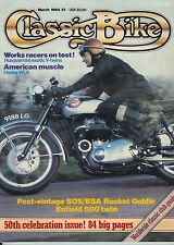 March Classic Bike Monthly Magazines