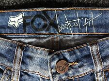 Ladies Retro Fox Bootcut jeans Size 27 Waist 32 Inside Leg
