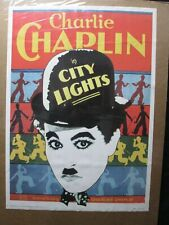 Charlie Chaplin In City Lights Vintage Poster Reprint 1970'S Cng1401