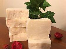 Handmade Soap 3 Bars PURE OLIVE OIL 100% Organic Vegan Hot Process more than 6oz