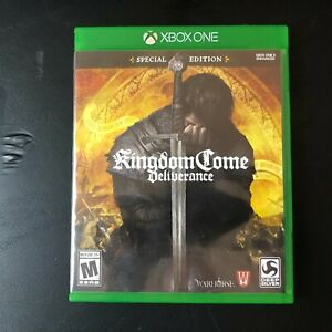 Kingdom Come: Deliverance Video Game (Microsoft Xbox One, 2018) Used & Tested