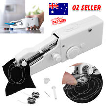 Mini Portable Handheld Cordless Sewing Machine Hand Held Stitch Home Clothes AU