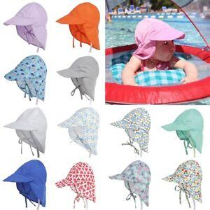Sun Hat Baby Boy Girl Kids Summer Beach Hat Cotton Legionnaire Bucket Cap Unisex