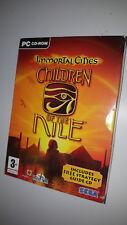 PC DVD ROM Jeu * Immortal Cities-Les enfants du Nil * Big Box