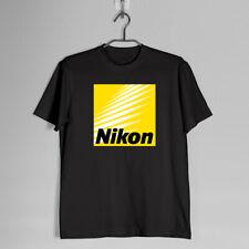New Vintage Nikon Camera Logo T-shirt S-3XL