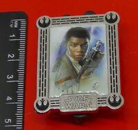 Walt Disney Enamel Pin Badge 2017 Star Wars The Last Jedi Finn Character