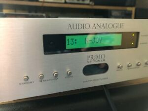 High End Tuner Audio Analogue Primo mit Röhre + RDS
